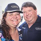 Krissy & Richard Hiteshew with A-1 Guaranteed heating and air conditioning repair